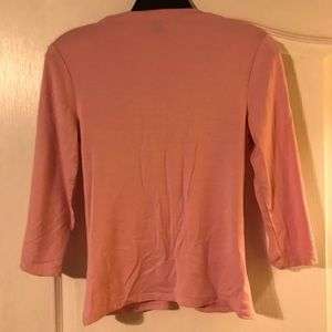 Express Other - Pinkish v-neck 3 quarter inch sleeves in size S.